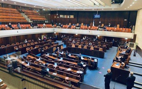 """מליאת הכנסת אישרה סופית: נתב""""ג והמעברים היבשתיים יסגרו"""