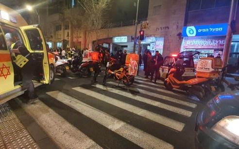 ירושלים: רוכב אופנוע נהרג והולך רגל נפצע בינוני בתאונה ברחוב יפו