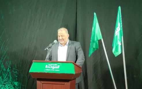 """מנסור עבאס: """"אינני רוצה להיות חלק מגוש הימין או השמאל – רק מייצג את דרישות הציבור הערבי"""""""
