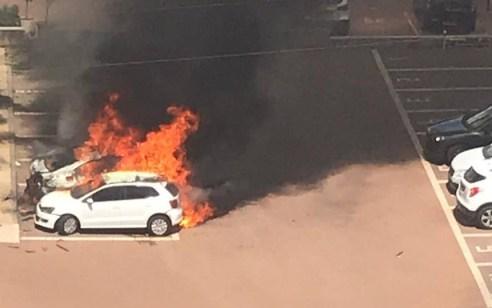 מטען הונח מתחת לרכבו של עבריין מקומי והתפוצץ בנתניה – אין נפגעים