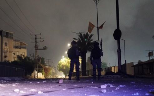 העוצר בלוד: נעצרו 36 חשודים בהפרות הסדר ובסבב מעצרים