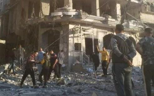 """צה""""ל תקף שני בנקים מרכזיים בעבודת ארגון הטרור חמאס"""