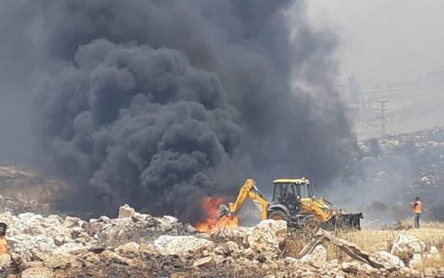 גל שריפות בעקבות החום הכבד: לוחמי האש טיפלו במעל 200 שריפות מהבוקר