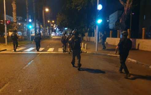 חיפה: המשטרה עצרה 8 חשודים ביידוי אבנים והפרות סדר במקום