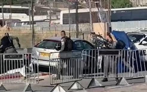 פיגוע דריסה בשמעון הצדיק בירושלים: שישה נפצעו קל עד בינוני  – המחבל חוסל