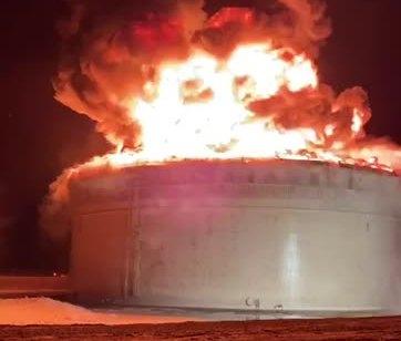 הותר לפרסום: רקטה פגעה במתקן קו צינור הנפט אילת-אשקלון
