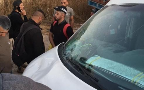 פגע וברח: גבר כבן 50 אותר לאחר שנפגע מרכב בכביש 35 סמוך לתרקומיא – מצבו קשה