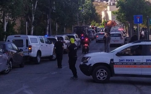 שני שוטרים נדקרו ונפצעו אנוש וקל בגבעת זאב – הדוקר נורה ונפצע בינוני