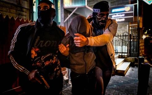 מסתערבים עצרו שלושה ערבים שתקפו רכב ובו 2 נוסעים חרדים בירושלים