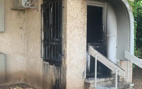 חשד להצתה: גן ילדים נשרף באופן חלקי ביישוב ציפורי בצפון
