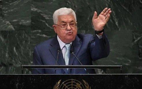 נשיא המדינה שוחח הערב עם ראש הרשות הפלסטינית אבו מאזן