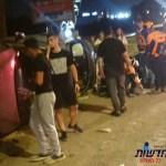 אשדוד: שני גברים נפצעו קל לאחר שערבי ניסה לגנוב את רכבם – החשוד נעצר אחרי סריקות