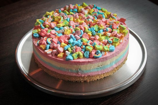 Lucky Charms Cheesecake