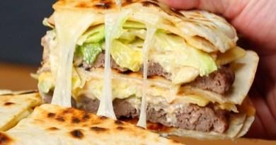 Quesadilla Big Mac