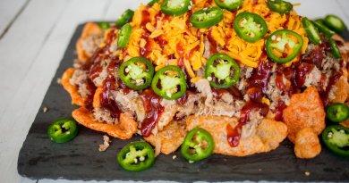 pork rind nachos