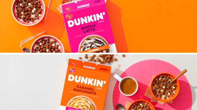 Dunkin' Coffee Cereal