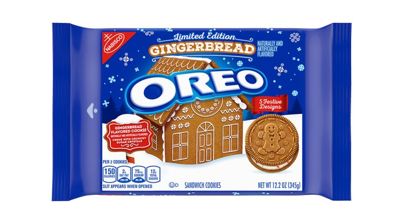 gingerbread oreos
