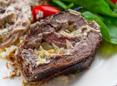 Cheese Stuffed Steak