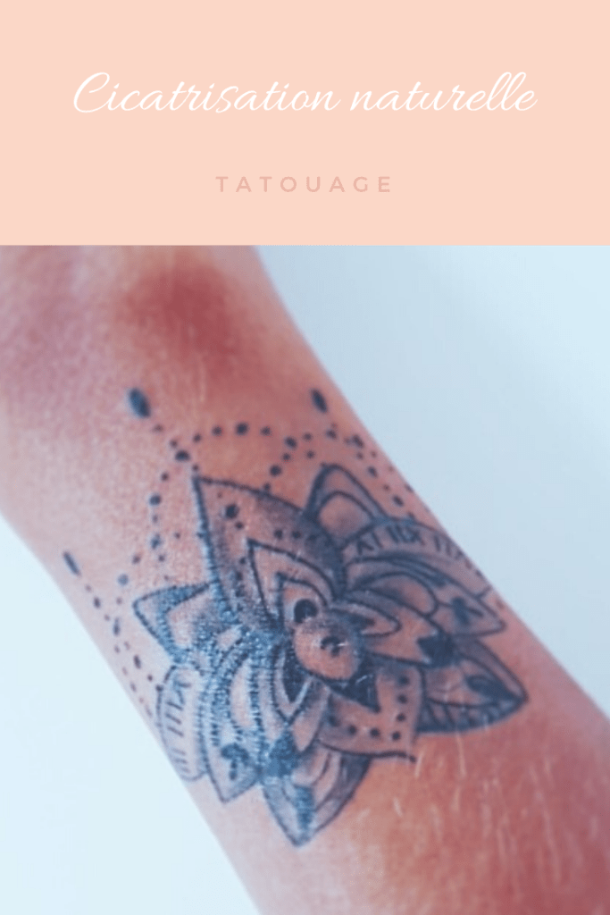 cicatriser un tatouage naturellement