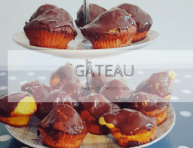 gâteau orange choco