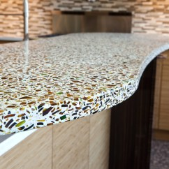 Kitchen Countertops Materials Undermount Sink White 6 Ecofriendly For Sustainable Design