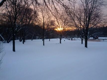 Dawn in Hoggs Hollow