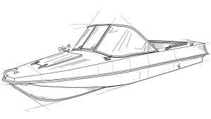 Стекло на лодку