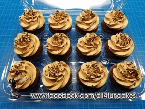 Sinful Decadence Chocolate Cupcakes by All4Fun Cakes