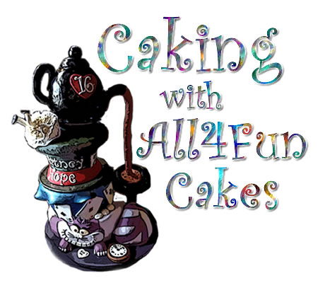 Caking With All4Fun Cakes Blog Logo