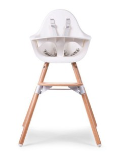 Otroški stol Childhome Evolu 2 White:Natural