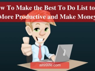How To Make the Best To Do List to be More Productive and Make Money all99life all99 The ONE Thing by Gary Keller