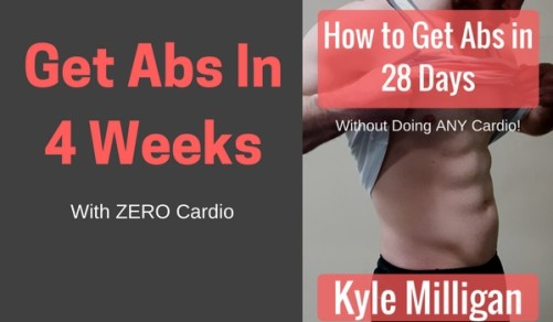 How to get Abs in 28 Days Without doing Cardio Featured Photo