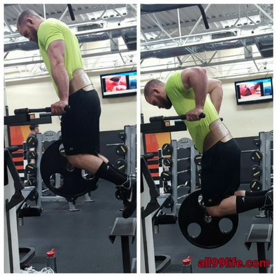 Dips Weighted Chest Workout