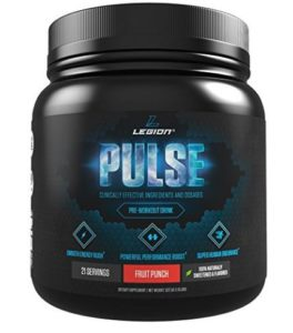 Legion Pulse supplement Pre workout powder