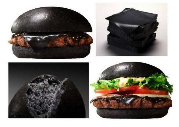 Μαύρα Burgers Burger King Kuro burger 2 japan
