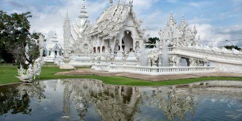 Ένα από τα ωραιότερα κτίρια στον κόσμο wat rong khun