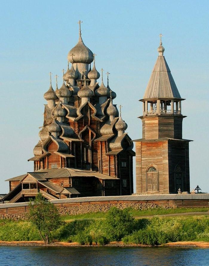 Καταπληκτικοί Χώροι Λατρείας Ναοί Church of the Transfiguration in Russia