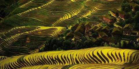 Μαγικές μικρές πόλεις Dazhai, China
