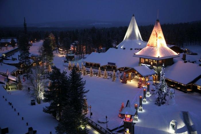 Χειμερινοί Προορισμοί στην Ευρώπη Lapldand, Φινλανδία