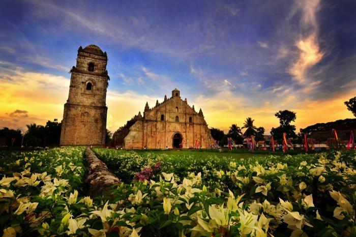 Καταπληκτικοί Χώροι Λατρείας Ναοί Paoay Church in the Philippines