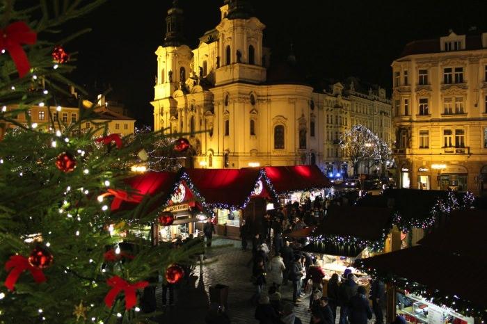 Πράγα, Τσεχία, Χριστουγεννιάτικη Αγορά Prague