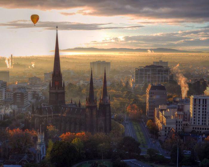 Καταπληκτικοί Χώροι Λατρείας Ναοί Saint Patricks Cathedral in Australia