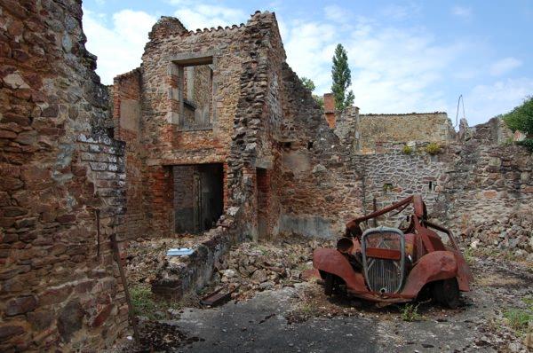 Πέντε ανατριχιαστικοί προορισμοί  Oradour-sur-Glane allabout.gr