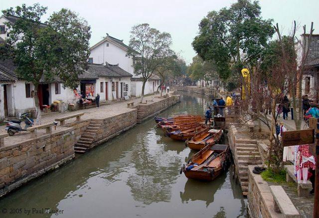 Υπέροχα χωριά που επιπλέουν στο νερό Tongli china allabout.gr