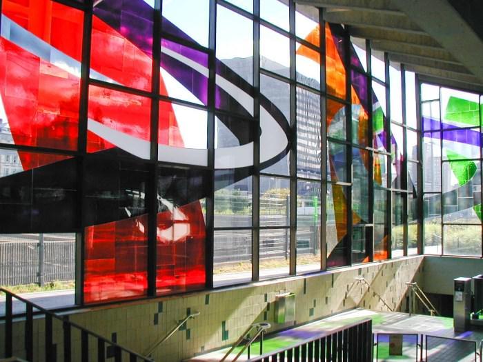 Πιο όμορφοι σταθμοί μετρό στον κόσμο Champ-de-Mars Station