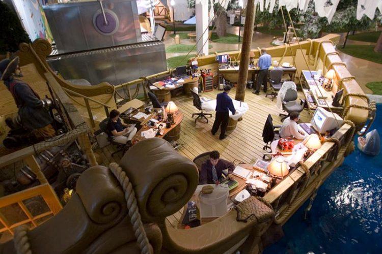 καλύτερα γραφεία του κόσμου Inventionland Design Factory Office