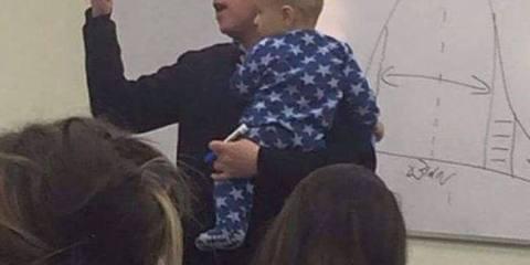 Τι έκανε καθηγητής Πανεπιστημίου όταν το μωρό φοιτήτριας του άρχισε να κλαίει