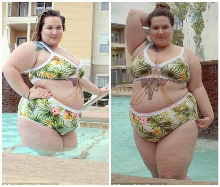 Κορίτσια με «Μεγάλες Καμπύλες» παίζουν στη πισίνα και τρελαίνουν κόσμο