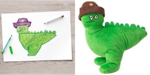 Το ΙΚΕΑ μετέτρεψε παιδικές ζωγραφιές σε πραγματικά λούτρινα κουκλάκια να συγκεντρώσουν χρήματα για φιλανθρωπικούς σκοπούς