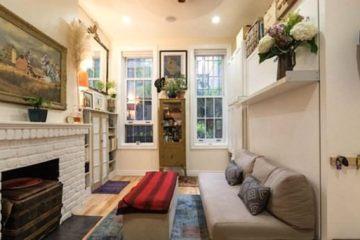 Μπείτε σ' ένα μικροσκοπικό διαμέρισμα μόλις 22 τ.μ. στη Νέα Υόρκη.